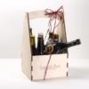 Cestino Porta Bottiglie in legno – Always Blond _ Selezione Birre Bionde